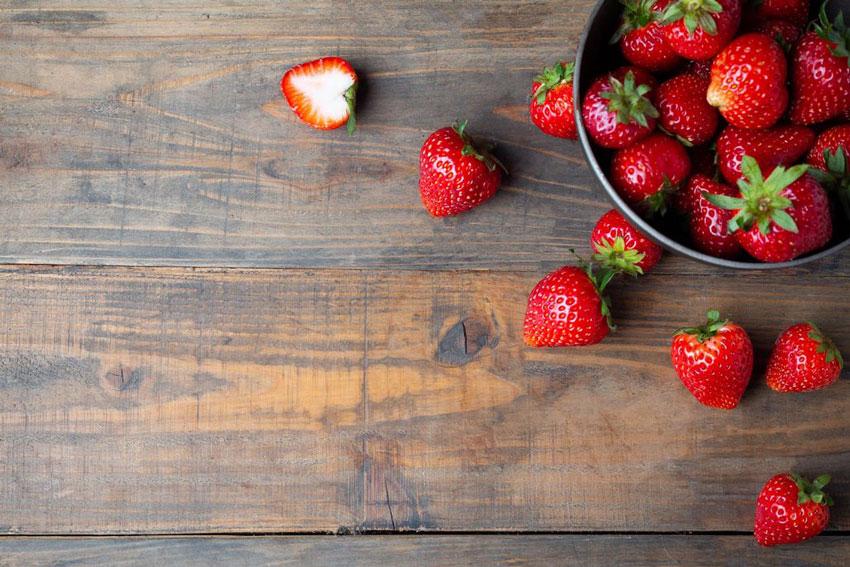 Las Fresas, la verdura protagonista de Abril