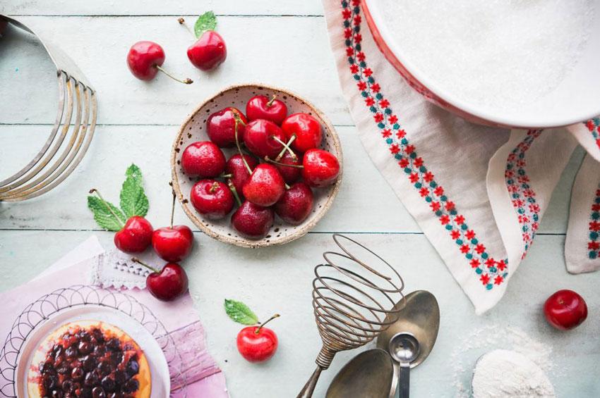 Las cerezas, la fruta protagonista de Mayo