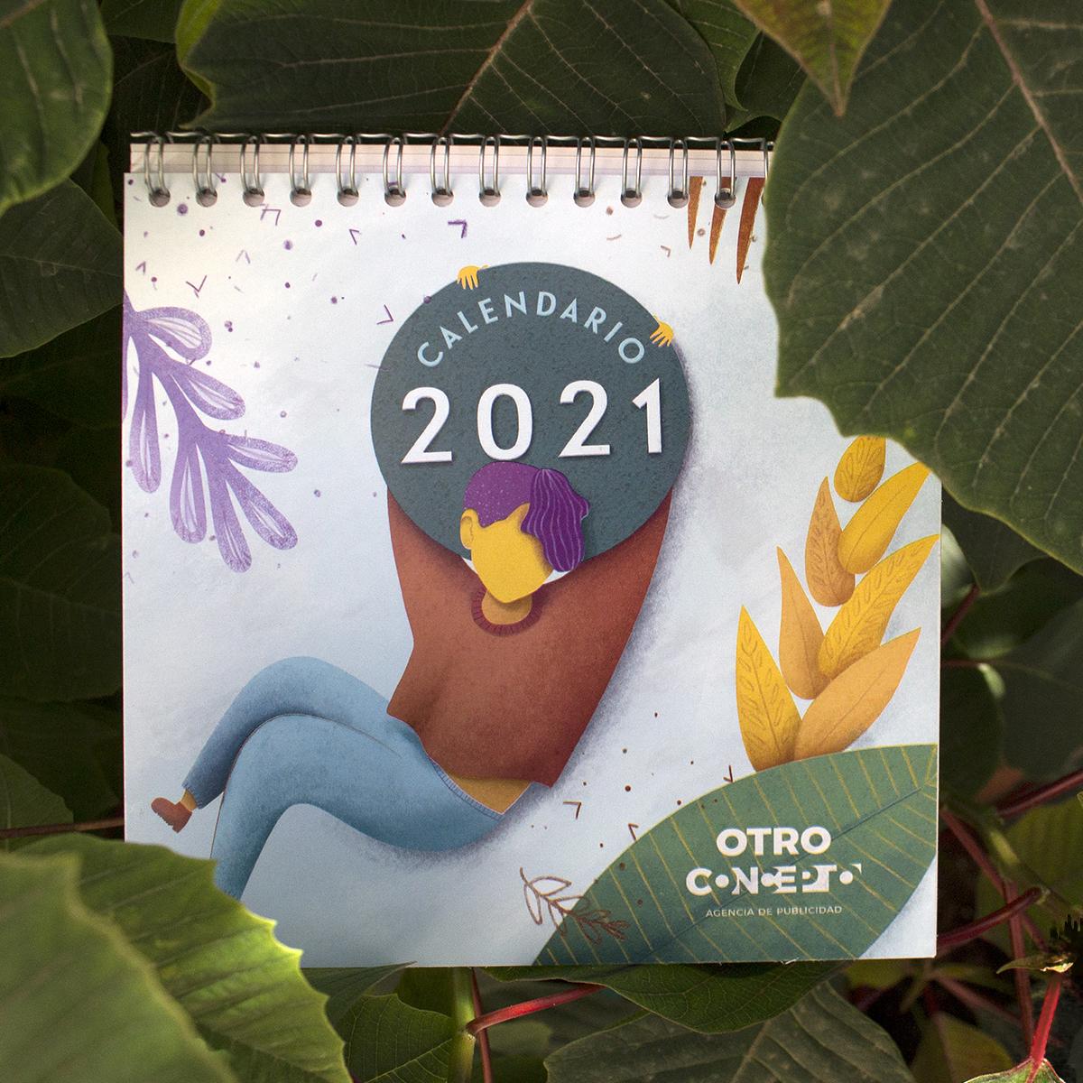 Calendario sobremesa 2021
