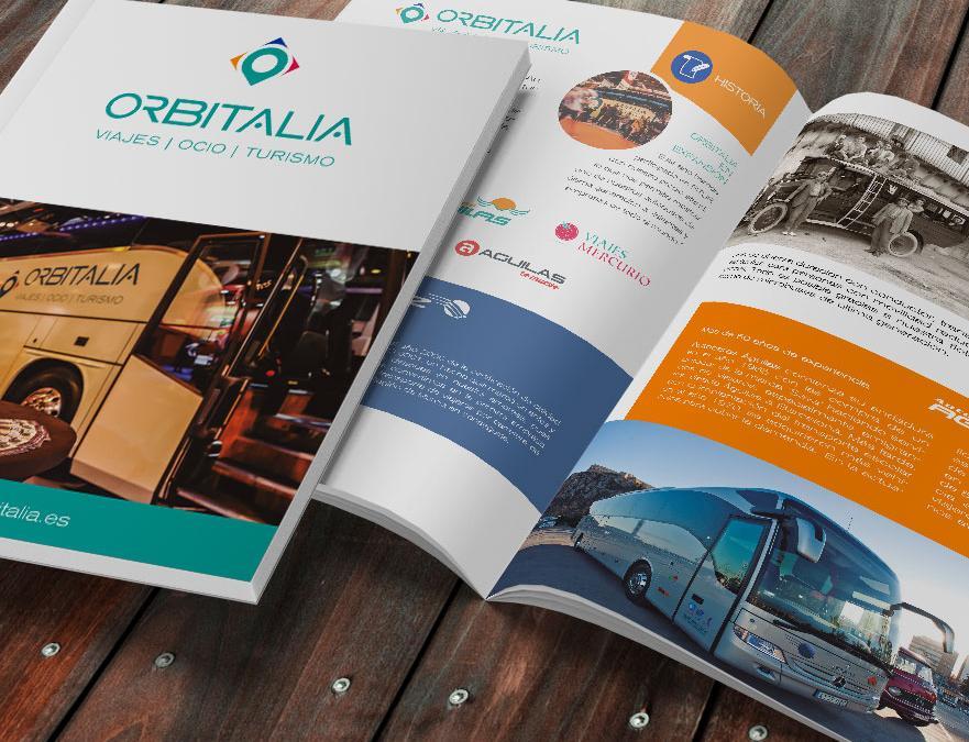 GRUPO ORBITALIA – Diseño de marca para grupo empresarial