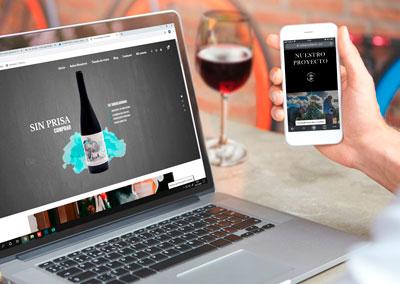 BODEGAS DE FÁBULA – Diseño web y corporativo